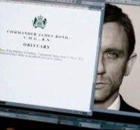 Skyfall 007 new Bond